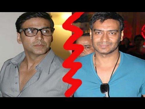 All is well between Akshay Kumar and Ajay Devgn, post ...  |Akshay Kumar And Ajay Devgan
