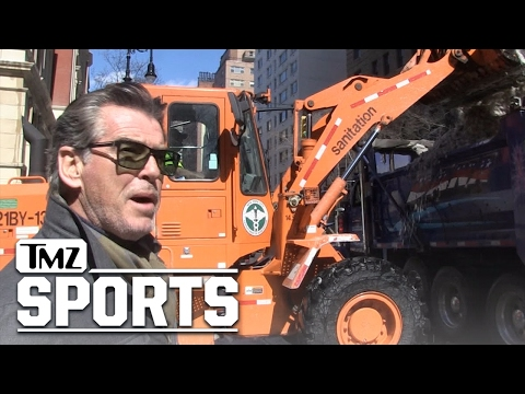 Pierce Brosnan Says Conor's Gonna KO Floyd ... Irish Pride, Baby!! | TMZ Sports