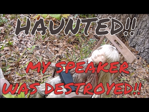 HAUNTED SPRING HILL CEMETERY (THE SPIRITS DESTROY MY SPEAKER)!!
