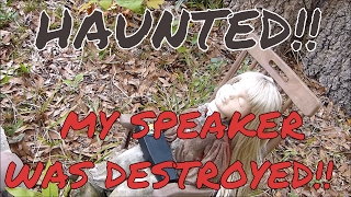 haunted spring hill cemetery the spirits destroy my speaker