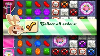 Candy Crush Saga Level 1103 walkthrough (no boosters)
