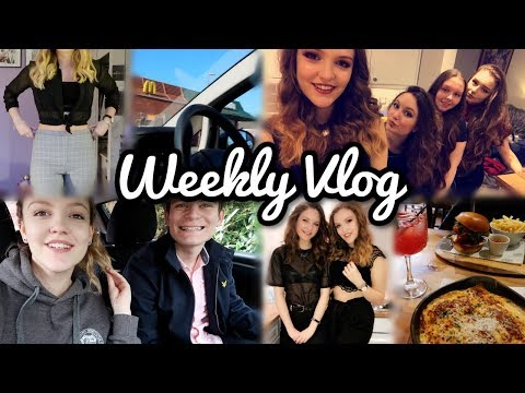 Date Day in York, House Parties & Tipsy Vlog Takeover by my Friends!