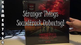 Bonus Unboxing - Stranger Things Soundtrack on vinyl!