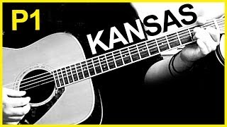 KANSAS - Carry On My Wayward Son (guitar tutorial)