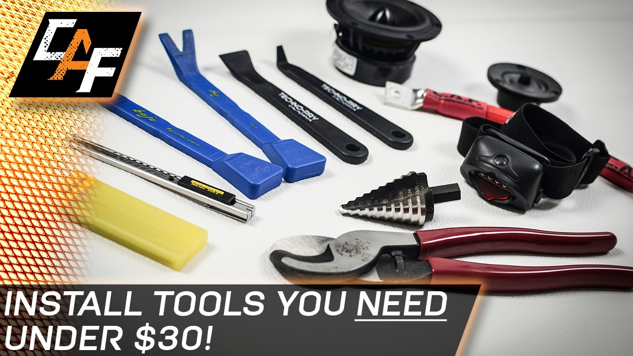 5 Car Audio Install Tools You NEED Under 30 CarAudioFabrication