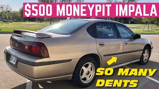 IMPOSSIBLE $500 Chevy Impala LS Flip *Is There Anything That Isn't Broken?*