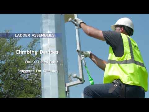 Ladders for Utility Structures