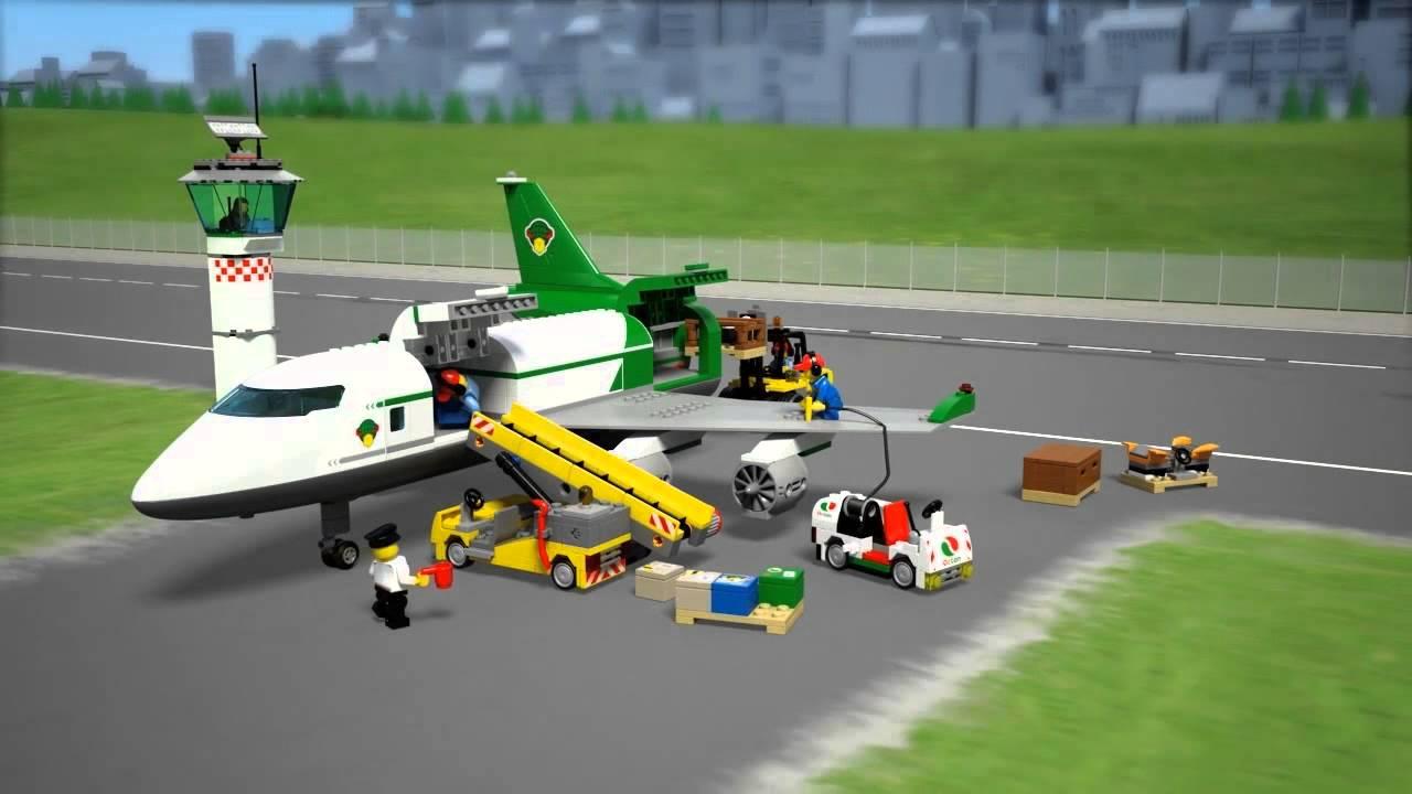 LEGO City 60022 Грузовой терминал - YouTube