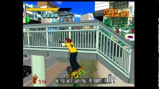 Jet Set Radio (Jet Grind Radio) Dreamcast Gameplay
