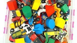 تعلّم الحيوانات والألوان ومركبات الشوارع للأطفال لعبة فيديو Brio
