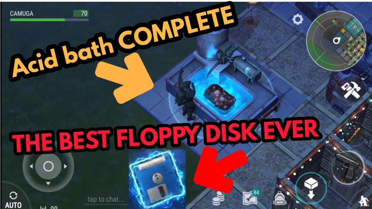 Acid Bath COMPLETE + BEST FLOPPY DISK EVER ! last day on earth - YouTube