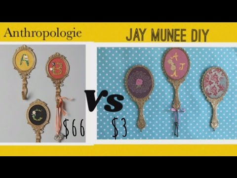 Dollar Tree DIY | Anthropologie DUPE Wall Hooks