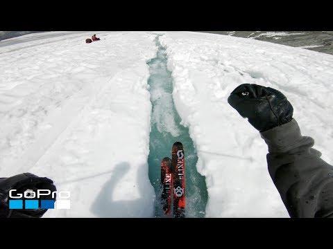 gopro:-glacier-water-ski