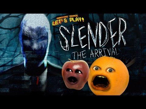 Annoying Orange and Midget Apple Play – SLENDER: THE ARRIVAL