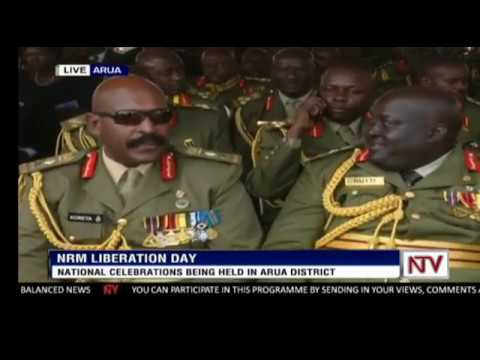 32nd NRM Liberation day Celebrations in Arua