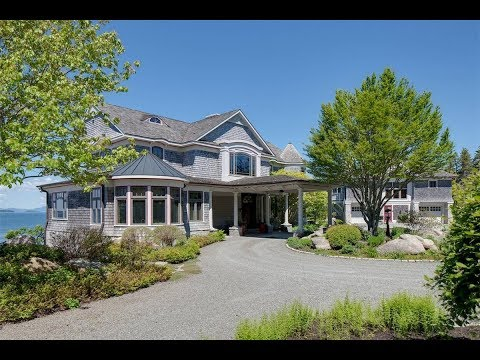 Private Waterfront Mansion In Deer Isle, Maine | Sotheby's International Realty