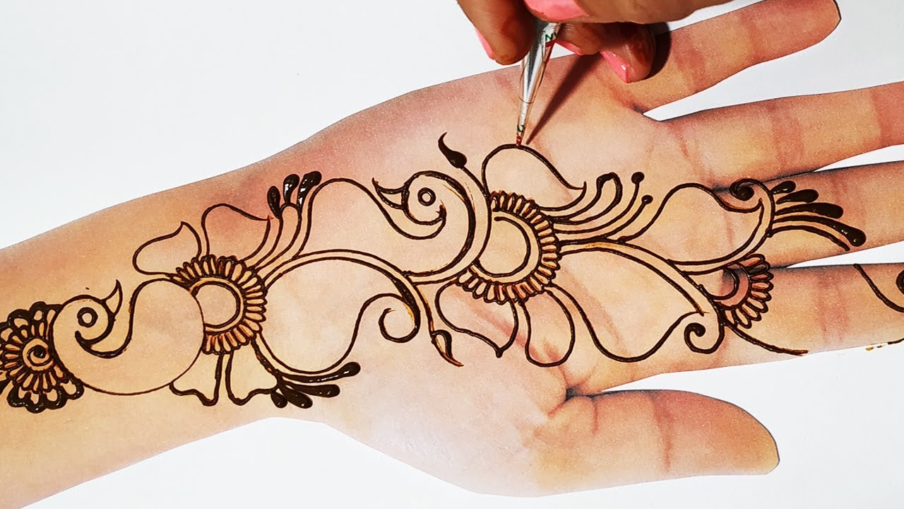 Unique Mehndi Design New Peacock Mehndi Design 2019 Valentine