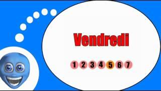 Французского видео урок = Дни недели