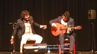 Antonio Reyes con Nono Reyes en Peñarroya - Fandangos
