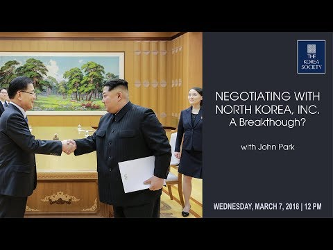 North Korea, Inc.: A Breakthrough?