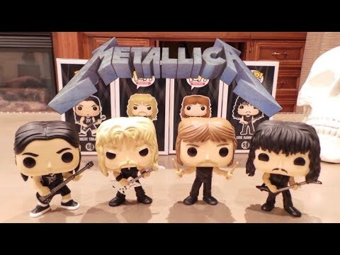 Metallica Funko POPS!