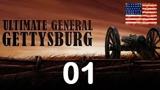 Ultimate General Gettysburg - Union Let's Play - 01 (Day 1 Morning)