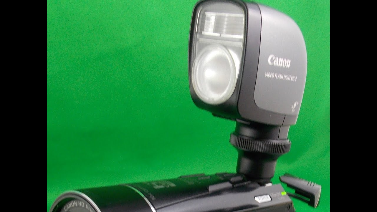 CANON CAMCORDER VIDEO FLASH LIGHT VFL-2 PART3B
