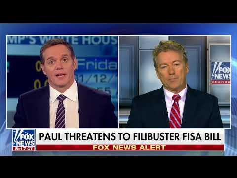 Sen. Rand Paul on FISA Reform   - Jan. 12, 2018