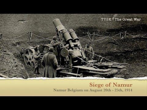 1914-10 Siege of Namur August 20-25 1914