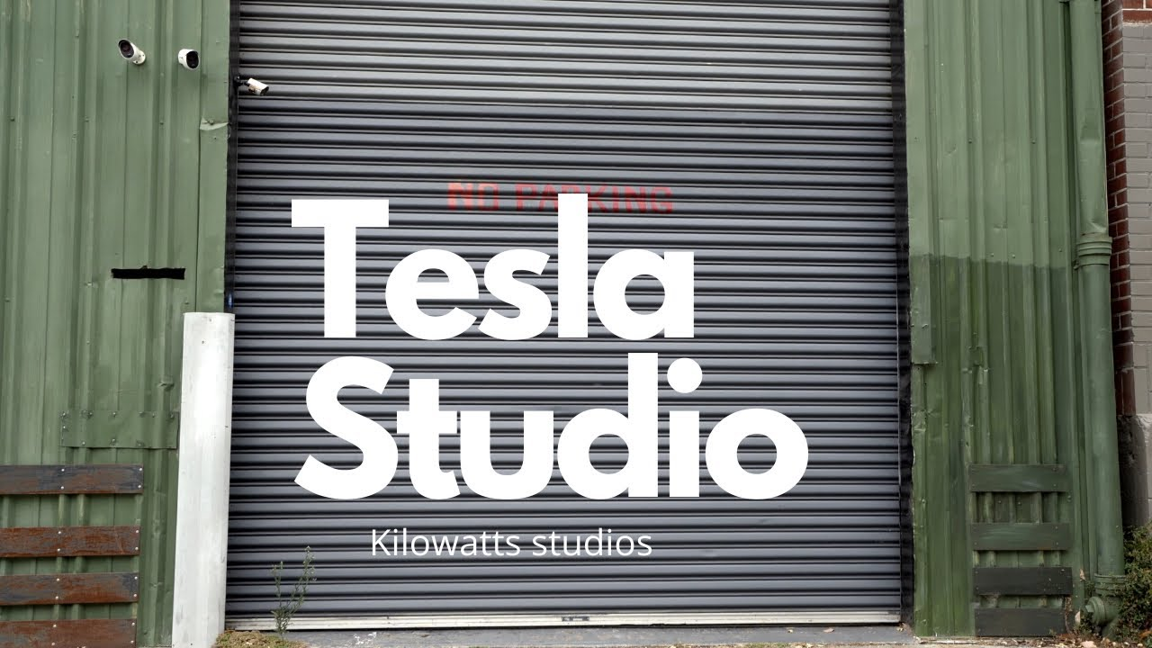 A dedicated studio for Tesla vehicles