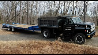 Dump truck paint and new trailer