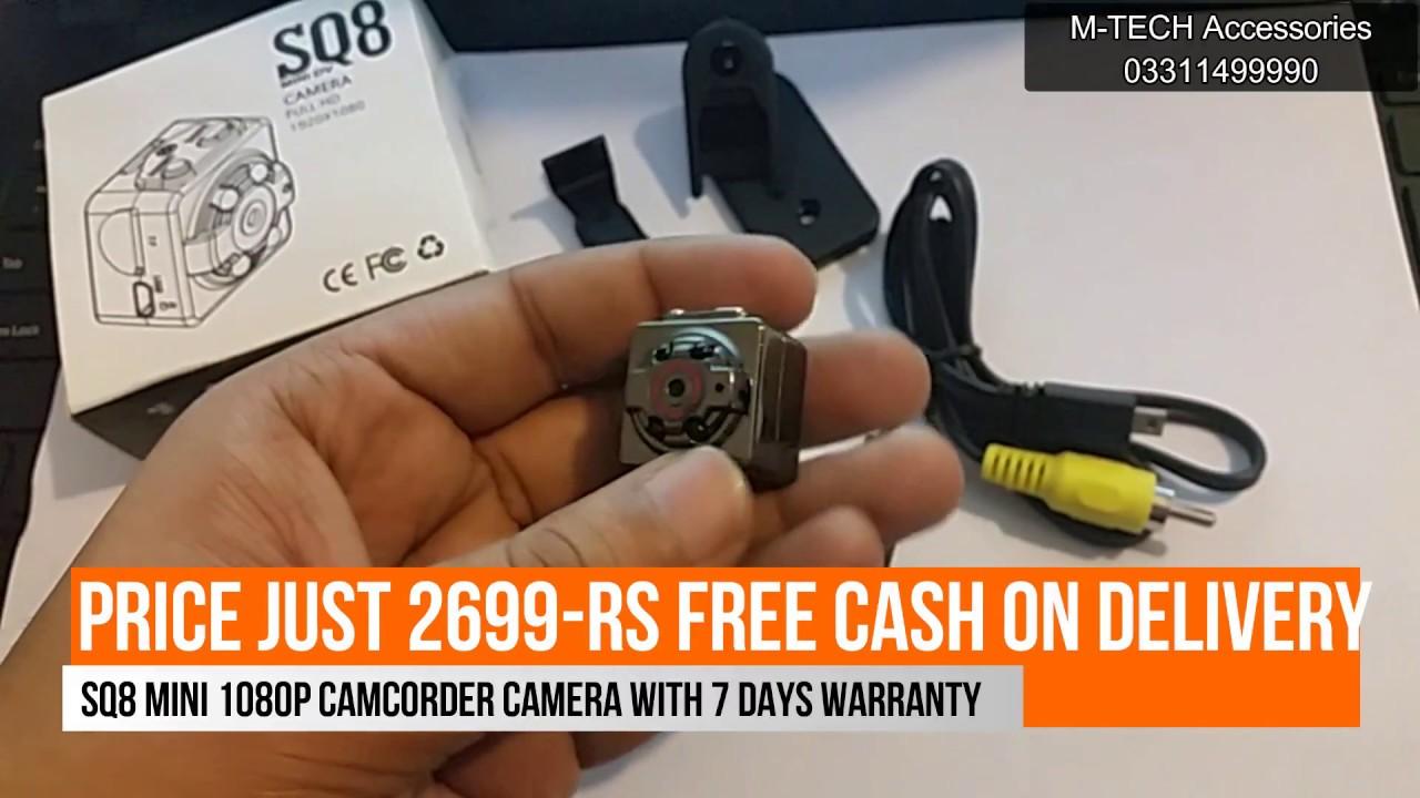 SQ8 Mini DV Camera 1080p Camcorder Video+Voice+Images  URDU/HINDI ...
