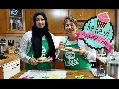Limonlu Pişmeyen Cheesecake / Pratik Pınar Labneli Limonlu Chesecake | Ayşenur Altan & Sahrap Soysal