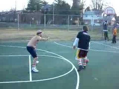 Cakes (Junkies) vs Chad Dukes B-Ball Challenge