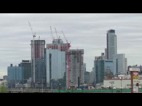 The growing skyline of Long Island City, Queens, NYC, April 2017