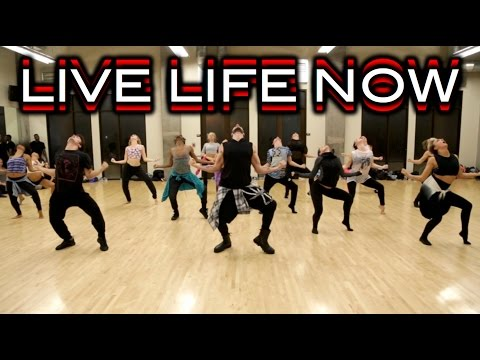Live Life Now - Cheryl - Choreography at Edge