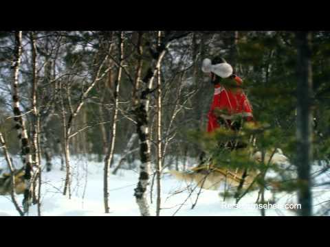 Norwegen: Hundeschlittentour in Finnmark / Norway: Dog Sledging in Finnmark by Reisefernsehen.com