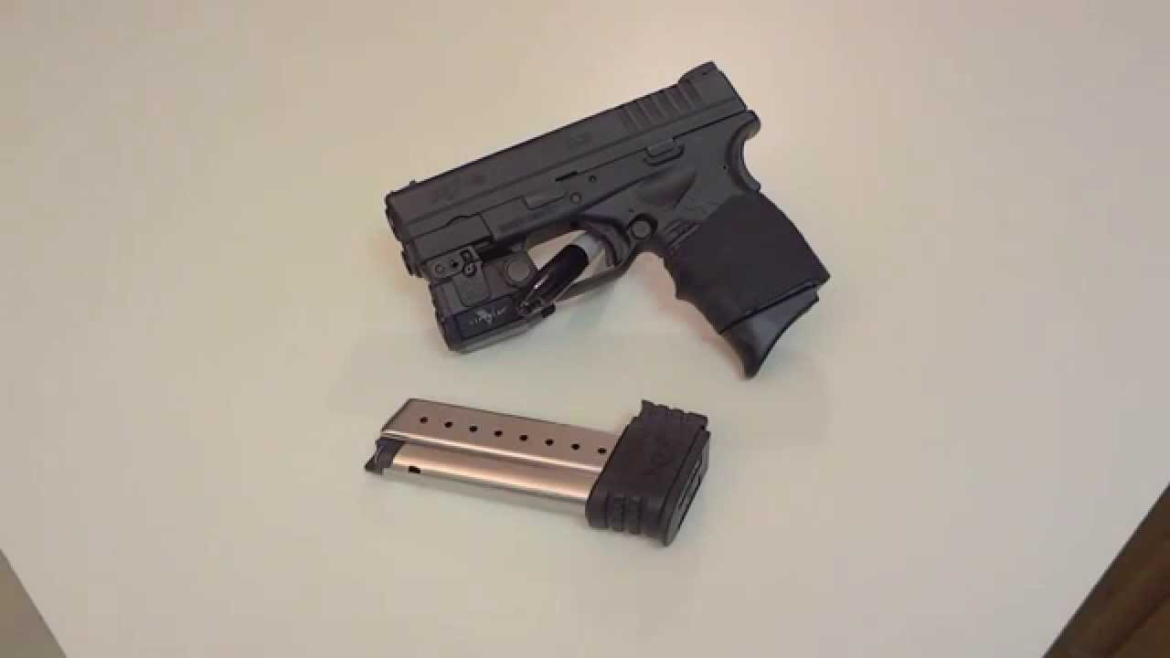 Pearce Grip Pinky Extension For Springfield Armory XDS//XDE//XDSMOD2 Pistols