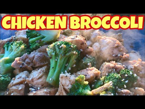 Griddled Chicken And Broccoli On The Blackstone Griddle - Chicken Recipe