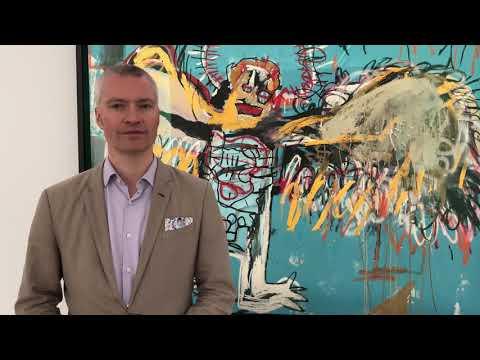 Dieter Buchhart about EDOUARD Carmignac portrait by Basquiat