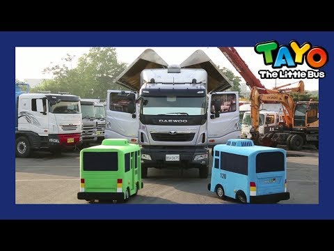 The Strong Heavy Vehicles l Tayo in Real Life #2 l Tayo the Little Bus