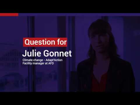 Julie Gonnet: Climate change - Adapt'Action facility manager