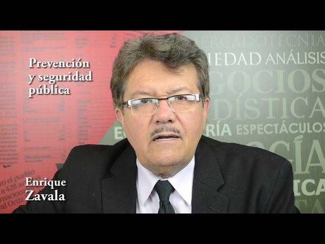 Enrique Zavala (Nuevo Sistema de Justicia Penal y su revisión)