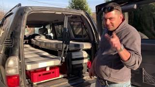 Cum să-ți faci un camper (autorulotă) spartan(ă) într-un Toyota Land Cruiser J9 (VZJ95)