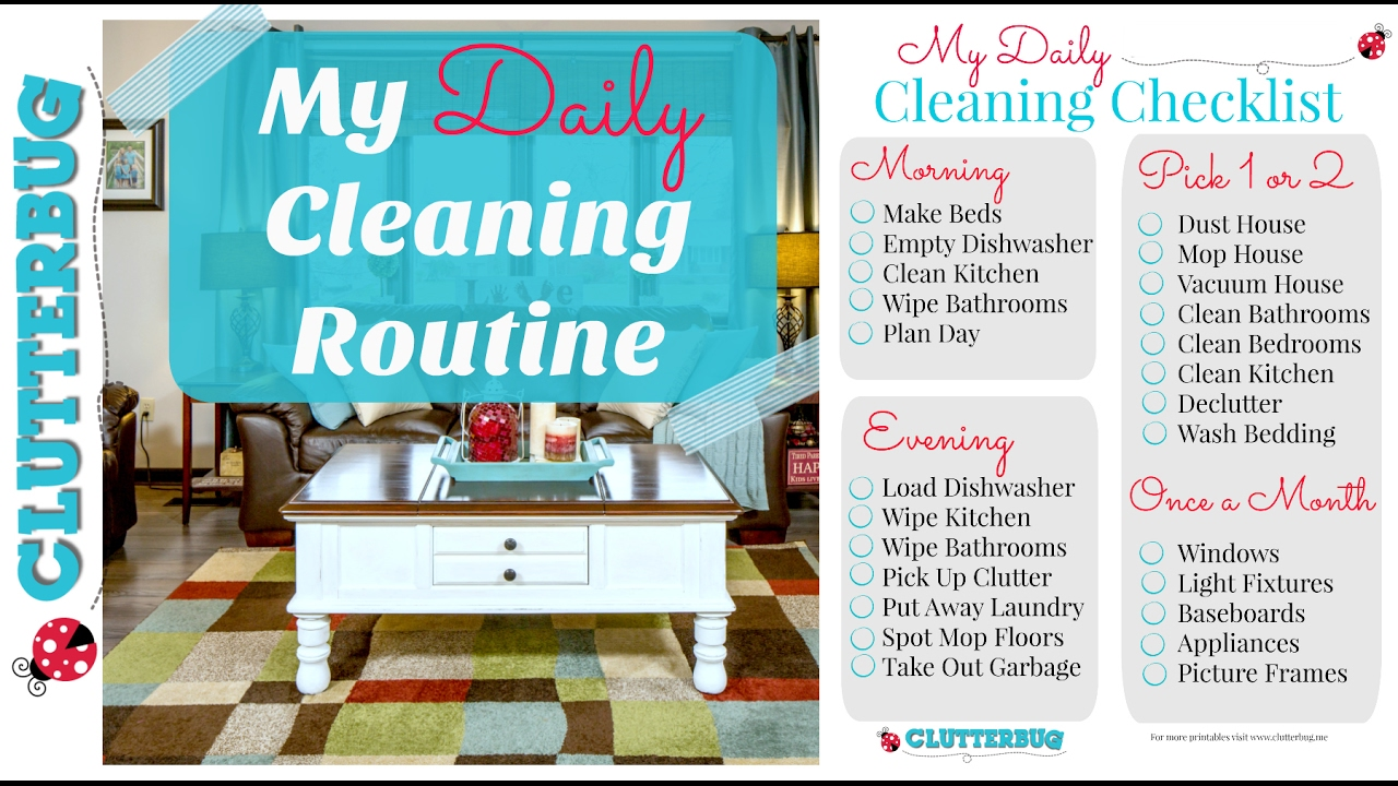 My Daily Cleaning Routine (Clean With Me Vlog Style) - YouTube