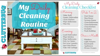 My Daily Cleaning Routine (Clean With Me Vlog Style)