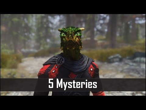 Skyrim: Another 5 Still Unsolved Mysteries you May Have Missed in The Elder Scrolls 5
