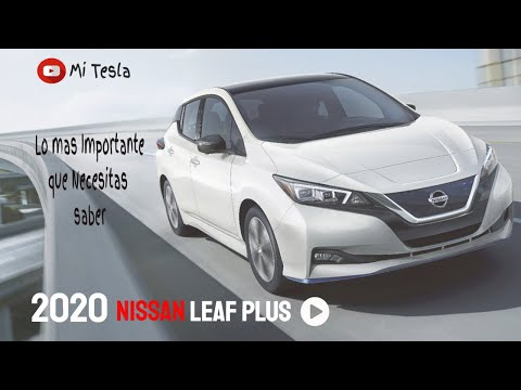 Nissan Leaf Plus todo lo que debes saber