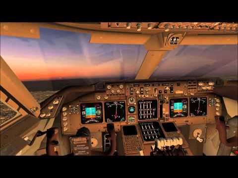 FSX ANA B747 800 Sydney Kingsford Smith YSSY to Tokyo Narita RJAA