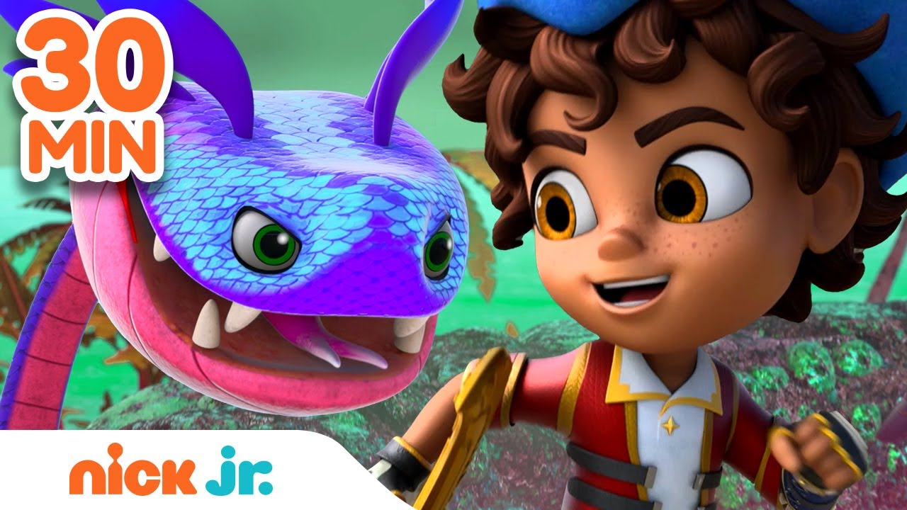 Download Santi's BEST Pirate Rescues! ⛵ | 30 Minute Compilation | Nick Jr.